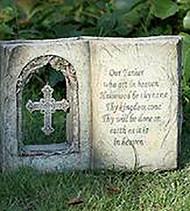 Inspirational Garden Book with The Lord's Prayer