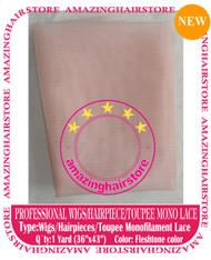 Monofilament Toupee Lace to make Toupee / Front Lace Wigs - Flesh Tone Color