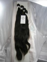 "18""20""22""24"" 4 Bundles Unprocessed 100% Virgin Brazilian Natural Wave Human Hair Weave Extensions"