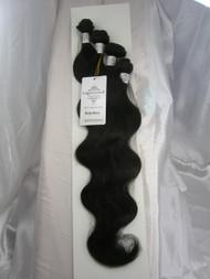 "18""20""22""24"" 4 Bundles Unprocessed 100% Virgin Brazilian Body Wave Human Hair Weave Extensions"