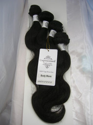 "12""14""14""16"" 4 Bundles Unprocessed 100% Virgin Brazilian Body Wave Human Hair Weave Extensions"