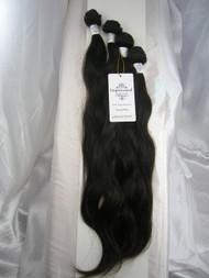 "16""18""20""22"" 4 Bundles Unprocessed 100% Virgin Brazilian Natural Wave Human Hair Weave Extensions"