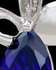 Silver Plated Drop of Hope Cremation Urn Pendant