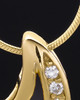 Gold Plated Treasures of the Heart Cremation Urn Pendant