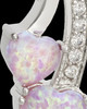 Sterling Silver Pink Treasures of the Heart Cremation Urn Pendant