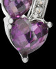 Sterling Silver Purple Treasures of the Heart Cremation Urn Pendant
