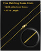 Gold Plated Always Cremation Urn Pendant