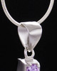 Sterling Silver Free Spirit Cremation Urn Pendant