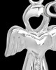 Sterling Silver February Heavenly Attendant Cremation Urn Pendant