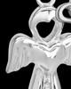 Sterling Silver June Heavenly Attendant Cremation Urn Pendant