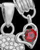 Sterling Silver January Soaring Spirit Cremation Urn Pendant