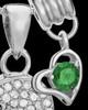 Sterling Silver May Soaring Spirit Cremation Urn Pendant