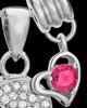 Sterling Silver October Soaring Spirit Cremation Urn Pendant