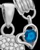 Sterling Silver September Soaring Spirit Cremation Urn Pendant