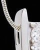 Silver Plated Vigilance Cremation Urn Pendant