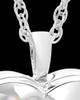 Sterling Silver Blossom of Love Urn Keepsake-Locket