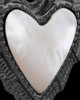 Black Plated Divine Moments Heart Keepsake Jewelry