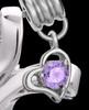 Sterling Silver June Fluid Cross Keepsake Jewelry