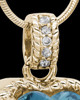 Gold Plated Seascape Heart Keepsake Jewelry