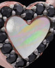 Rose Gold Plated Heart Duo Keepsake Jewelry