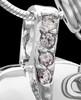 Sterling Silver March Weeping Heart Keepsake Jewelry