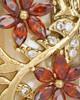 Gold Plated Spring Garden Keepsake Jewelry
