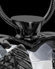 Black Plated Stainless Steel Clear Fond Emotions Jewelry Keepsake