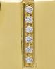 Cremation Locket Gold Plated Shimmer Rectangle