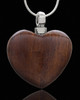 Cremains Keepsake Timber Heart - Eternity Collection