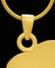Necklace Urn 14K Gold Memory Heart Keepsake