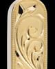 Locket Jewelry 14K Gold Plated Majesty Cylinder Keepsake