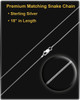 2 Person Sterling Silver Contemporary Companion Infinity Ash Pendant
