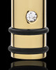 Cremation Locket Gold Plated Determination Cylinder