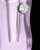 Memorial Locket Lavender Bliss Glass Locket