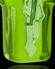 Urn Pendant Green Faithful Cross Glass Locket