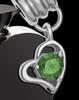 Stainless Steel May Enamored Heart Cremation Keepsake