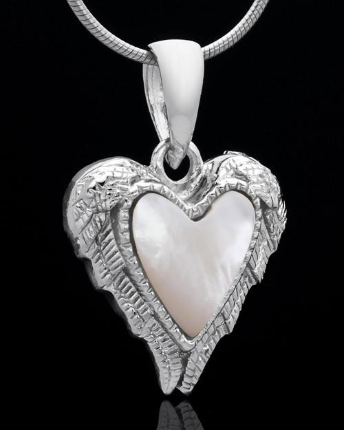 Sterling Silver Divine Moments Heart Keepsake Jewelry