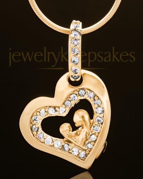 Gold Plated Tenderness Keepsake Jewelry