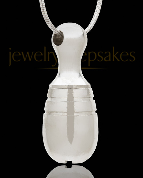 Silver Plated Memorial Necklace Silver Plated Delight