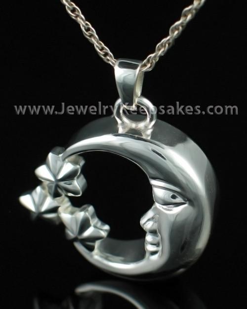 Jewelry Urn Sterling Silver Starry Night Keepsake