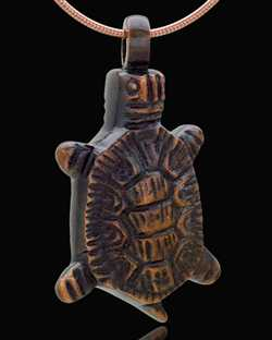 turtle necklace for ashes