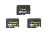 3 Pack 8GB MicroSD Memory Card