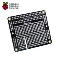 Prototyping Board for Raspberry Pi 2 Pi 3 A+ B+