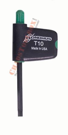 34410 Bondhus T10 Star Flagdriver Tool