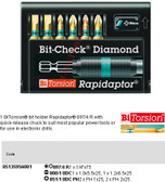05135956001 WERA 8700-6 PH/BDC RAPIDAPTOR BIT-CHECK (6PC)