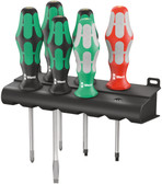 WERA 05347778001 334/368/6 SCREWDRIVER SET