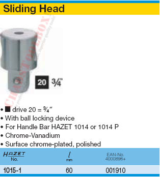 HAZET 1015-1 SLIDING DEVICE