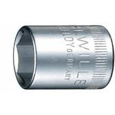 1410028 Stahlwille 40A-7/16  1/4 Drive SAE 6Pt Socket