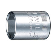 1410034 Stahlwille 40A-9/16  1/4 Drive SAE 6Pt Socket