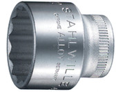 02010022S Stahlwille 45-22 3/8 Drive 12 Point SHORT